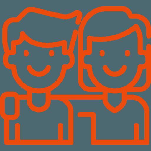 couple montrant la valeur convivialité